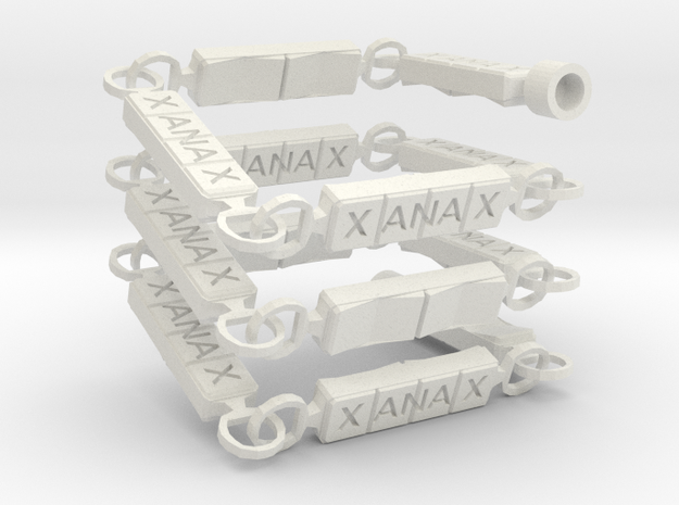 Xanny Necklace in White Strong & Flexible