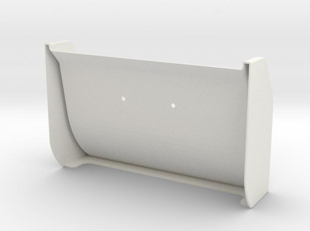 Optima Mid Wing in White Natural Versatile Plastic
