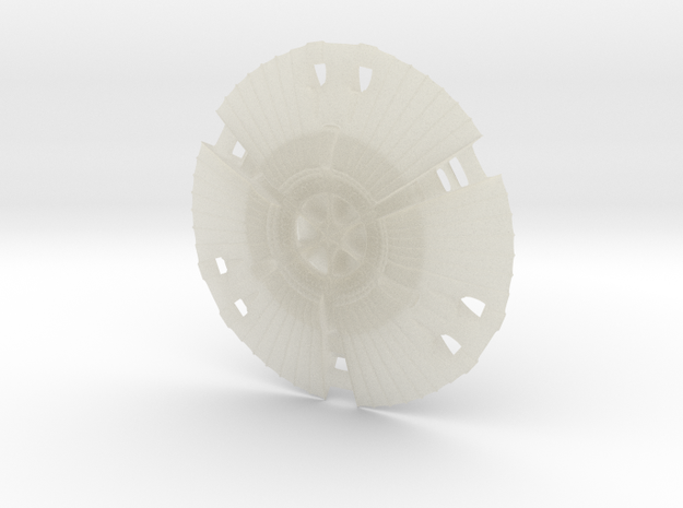 UFO - Reptiloid 3d printed Description