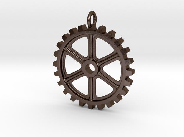 Tough Gear in Polished Bronze Steel