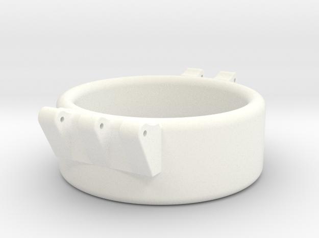 Ccage 33-15 in White Processed Versatile Plastic