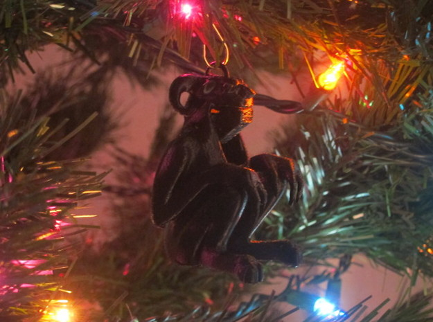 Krampus Ornament - Large 3d printed