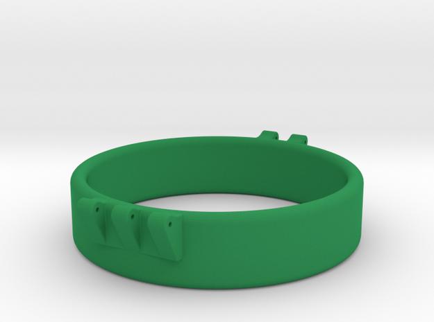 Ccage 56-15 in Green Processed Versatile Plastic