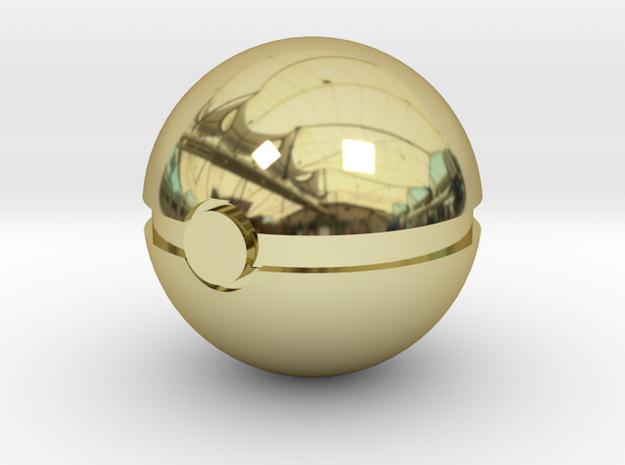 Pokeball in 18k Gold