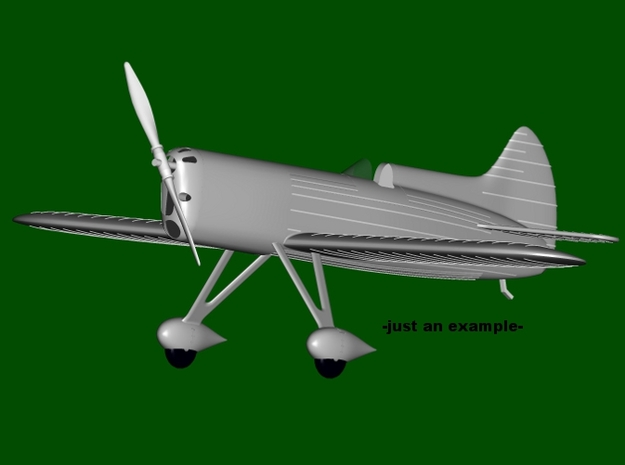 """DGA-5 """"IKE"""" #39, scale 1/144  in Smooth Fine Detail Plastic"""