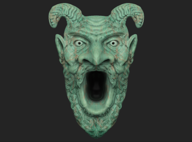 Tomb of Horrors Demon Face
