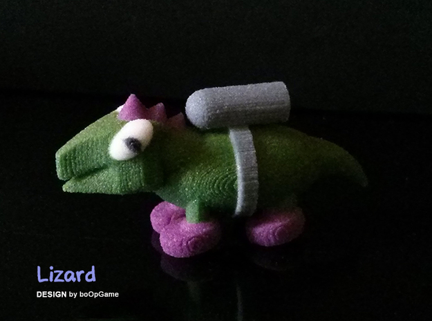 boOpGame Shop - The Lizard in Full Color Sandstone
