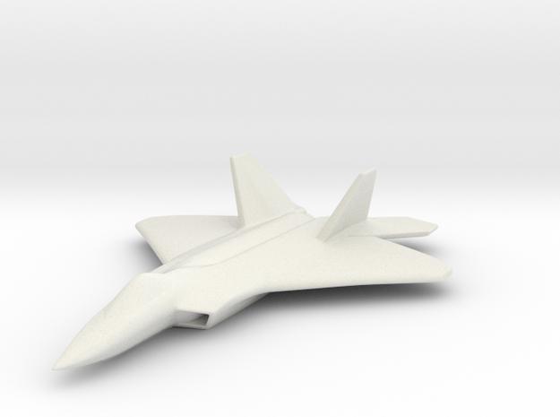 1/285 F-22 Raptor 3d printed