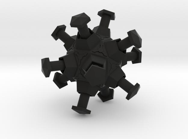 boOpGame Shop - Half-Life Roller Mine in Black Natural Versatile Plastic