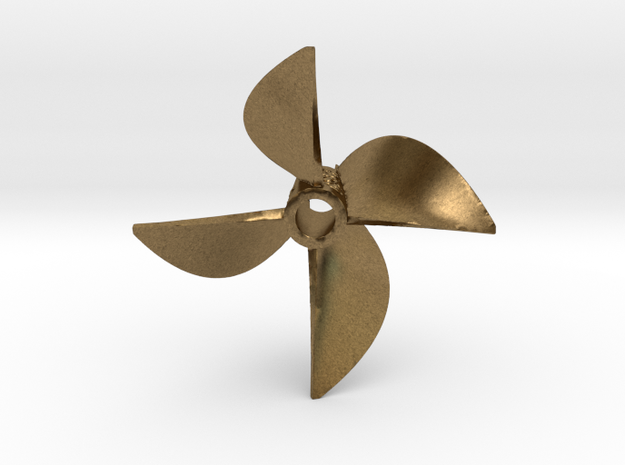 Propeller, Series 754 Cleaver : 425520-5-23-754 in Raw Bronze