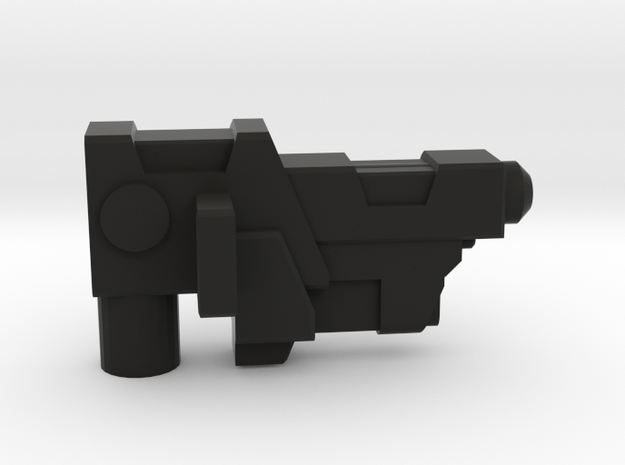 Maxima Side Arm Gun Left in Black Natural Versatile Plastic