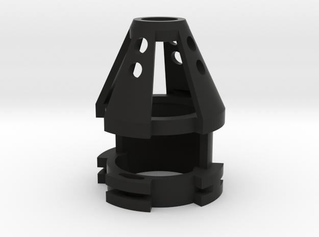 "1.14"" 20mm Speaker/Recharge Port in Black Strong & Flexible"
