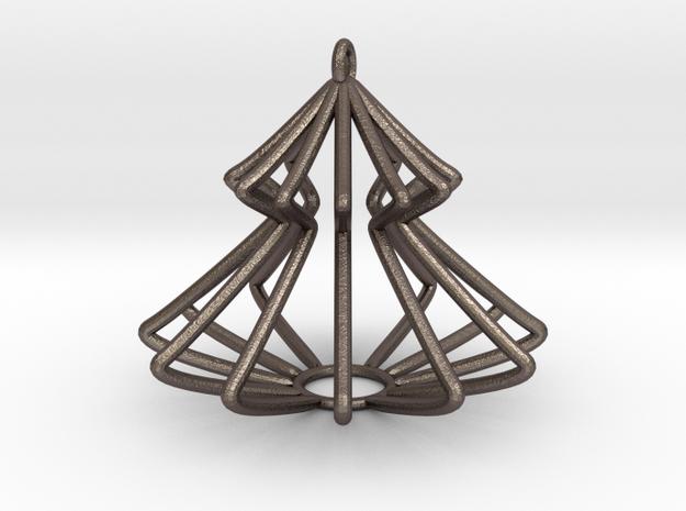 Christmas Pine Tree in Stainless Steel