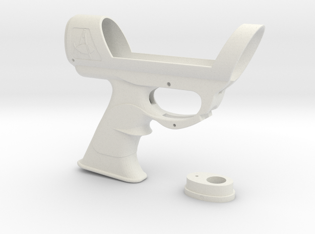 ESB Sidearm Main Body Unmodified in White Natural Versatile Plastic