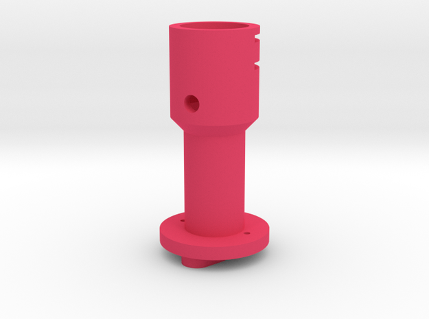 Suncom to Thrustmaster joystick tailpiece in Pink Strong & Flexible Polished