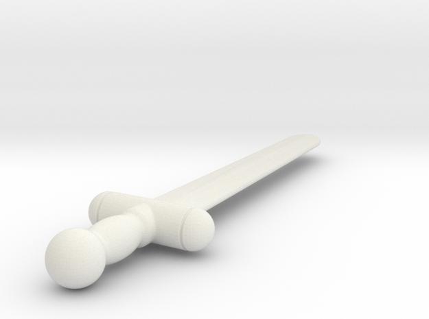 Upload Test (#116) in White Natural Versatile Plastic