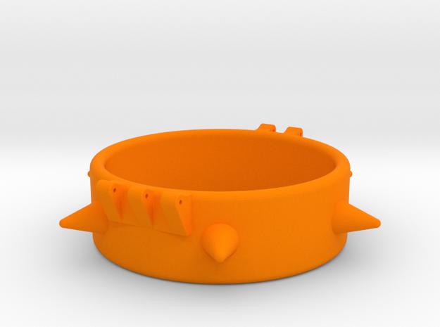 Ccage-6 Spike 54-20 in Orange Processed Versatile Plastic
