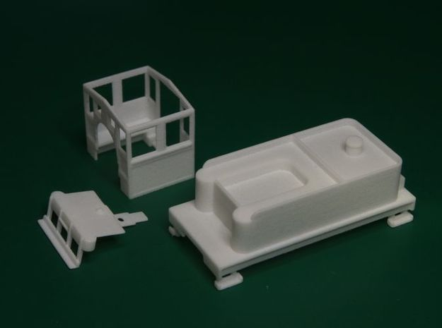 Parts for 2-8-0 conversion B (cab,pilot,tender) 3d printed