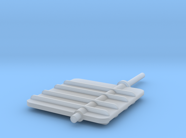Main Rudder 1-32V3 in Frosted Ultra Detail