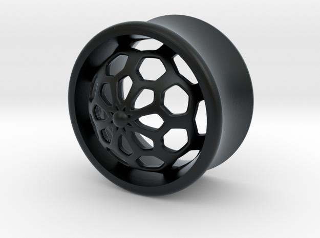 VORTEX1-18mm in Black Hi-Def Acrylate