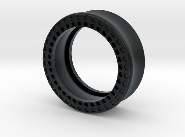 VORTEX11-29mm in Black Hi-Def Acrylate