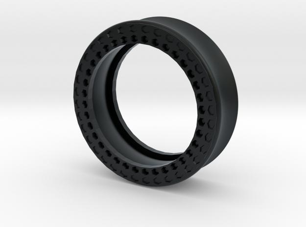 VORTEX11-35mm in Black Hi-Def Acrylate