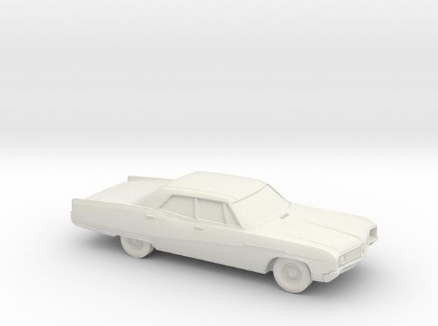 1/64 1967-68 Buick Electra Sedan in White Natural Versatile Plastic