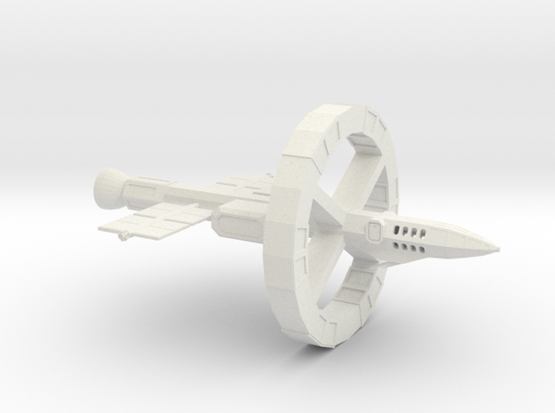 Odyssey-Class testbed in White Natural Versatile Plastic
