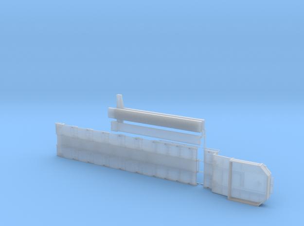 G 003-3 Tieflader ähnlich Goldhofer 6 achs Lang V3 in Smooth Fine Detail Plastic