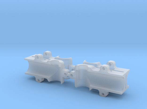 Baggergetriebe 1:87 in Smooth Fine Detail Plastic