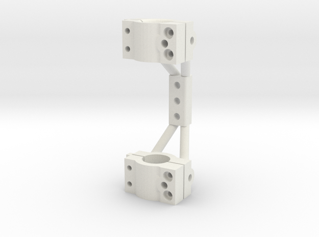 RC4WD axle truss in White Strong & Flexible
