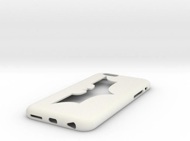 Iphone6 Case Batman in White Strong & Flexible