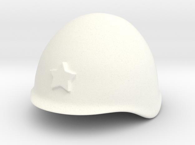 Russian Helmet ssh39/40 (test DC) in White Processed Versatile Plastic