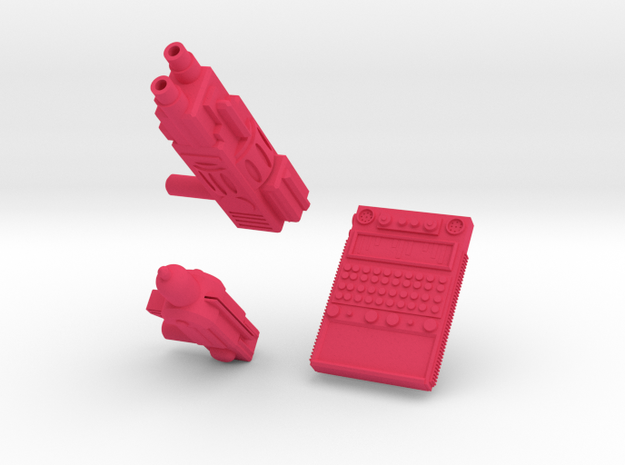 TEWOJ Technologies Set  in Pink Processed Versatile Plastic