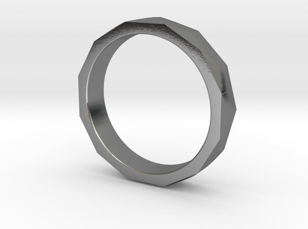 Engineers Ring - US Size 9.75 in Polished Silver