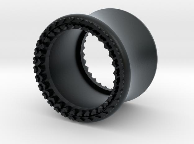 VORTEX8-12mm in Black Hi-Def Acrylate