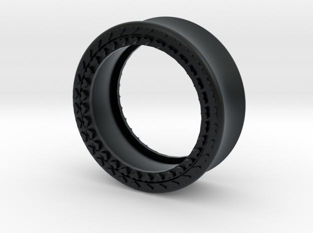 VORTEX8-28mm in Black Hi-Def Acrylate