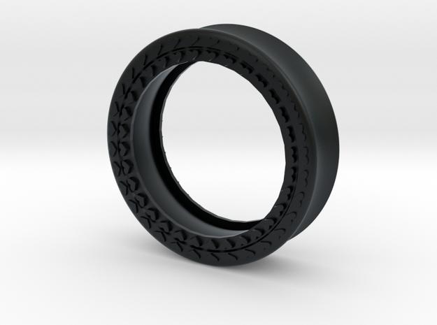 VORTEX8-38mm in Black Hi-Def Acrylate