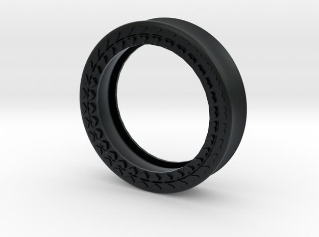 VORTEX8-43mm in Black Hi-Def Acrylate