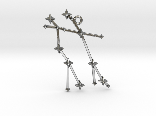 The Constellation Collection - Gemini in Polished Silver