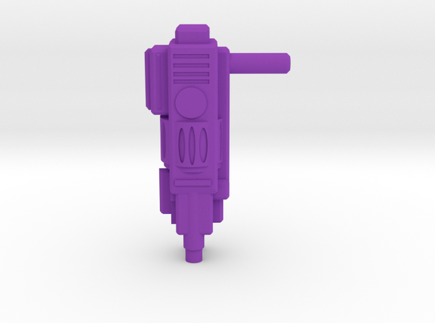 TEWOJ Blaster Rifle  in Purple Processed Versatile Plastic