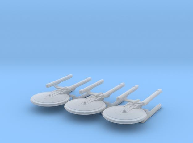1/7000 - Tessera Explorer Cruiser - 3 ships pack in Smooth Fine Detail Plastic