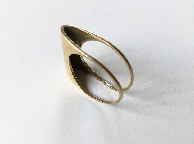 Ring No. 1 in Raw Brass: 6.5 / 52.75