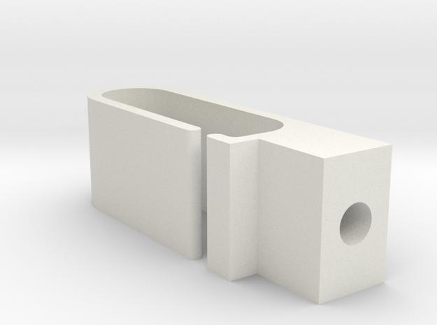 AE B5m Wire Router in White Natural Versatile Plastic