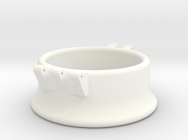 Ccage-bell 40-20 in White Processed Versatile Plastic