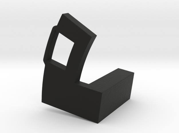 FDn Aperture Arm Long 10mm in Black Natural Versatile Plastic