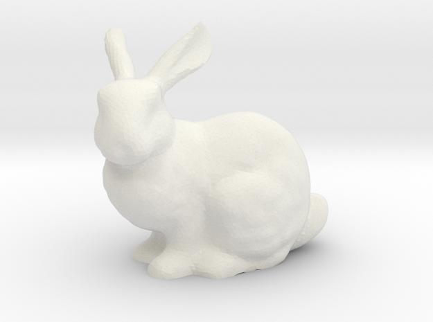 Bunny LED Tea Light Holder in White Strong & Flexible