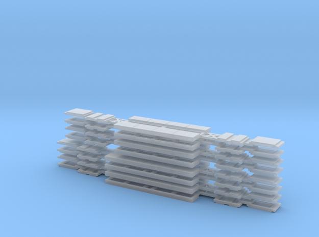 N05C - Waratah Trailer Glazing - Part C in Smooth Fine Detail Plastic