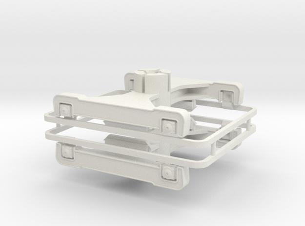ESW B4r DG Paar in White Natural Versatile Plastic