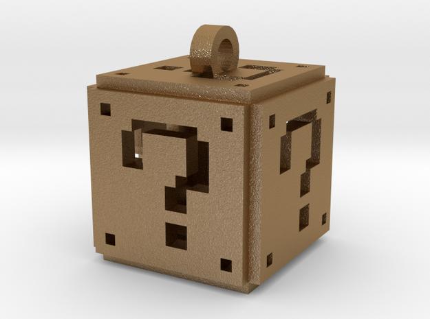 Super Mario Question Box Pendant